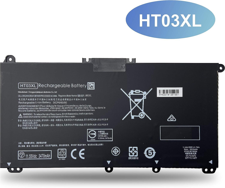 EMAKS HT03XL Battery for HP Pavilion 14-CE0000 14-CF0000 14-CM0000 15-CR0000 15-CW0000 15-DA0000 15-DB0000 15-DW0000 17-BY0000 17-CA0000 Series HSTNN-DB8R DB8S IB80 IB8O LB8L LB8M UB7J HT03041XL