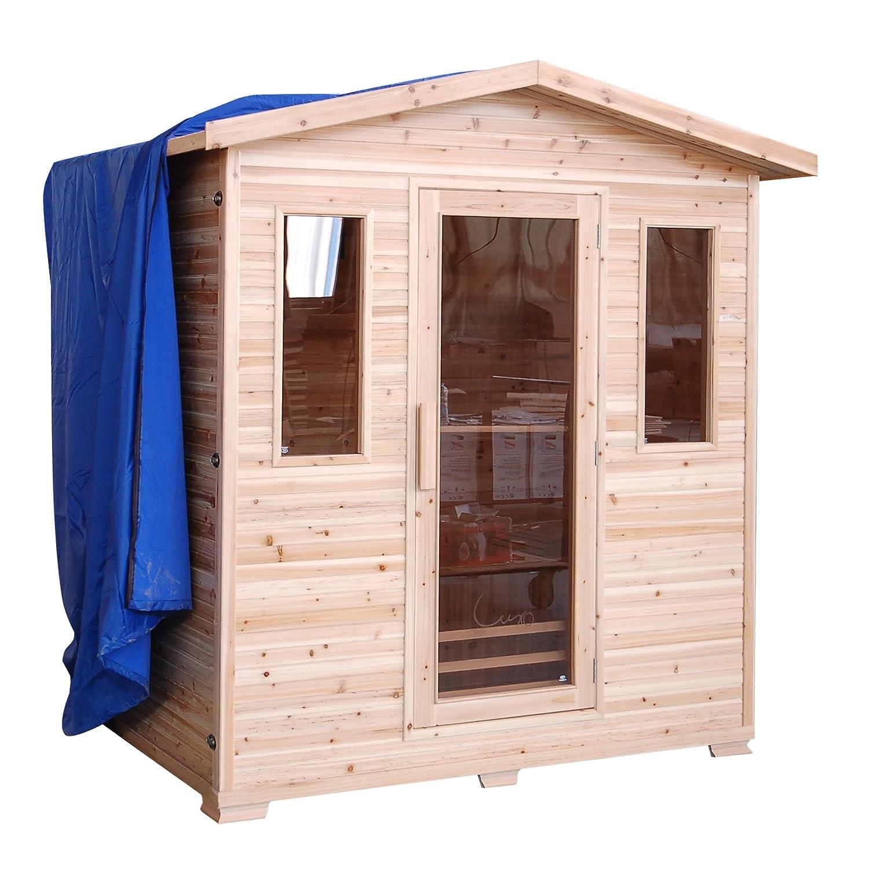 Amazoncom Cayenne 4Person Outdoor Sauna Garden Outdoor