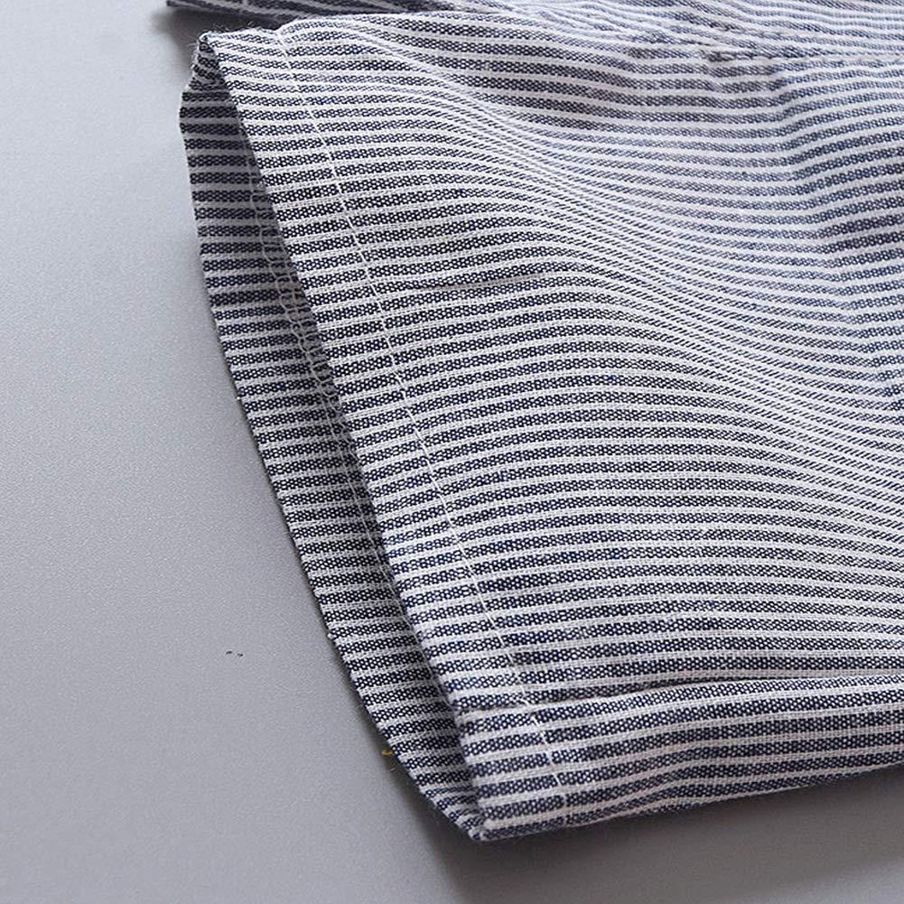 FCQNY Kid Baby Boy Summer Short Sleeve Lapel Stripe Cotton T-Shirt Top+Shorts 2Pcs