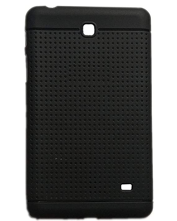 KANICT Dotted Finished Soft Rubbersied Back Case Cover for Samsung Galaxy Tab 4 7.0 T231  Black  Tablet Bags, Cases   Sleeves