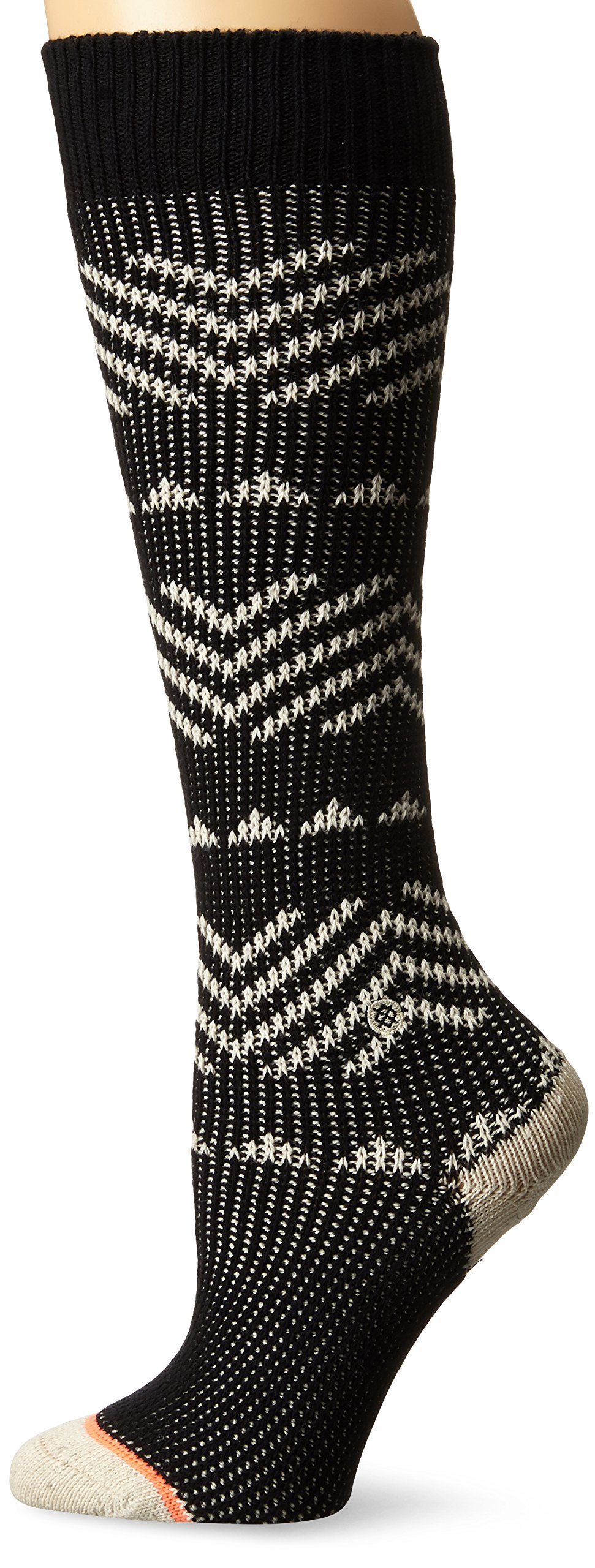Stance Women's Del Valle Tall Boot Sock, Black, Small by Stance (Image #1)