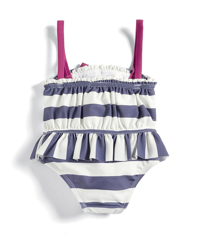 Mamas /& Papas Stripe Swimsuit Costume da Bagno Bimba