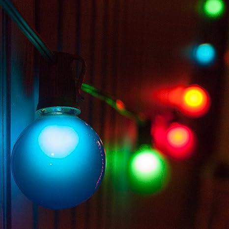 G50 Globe String Lights   String Lights Indoor Outdoor String Lights Patio  String Of Lights,