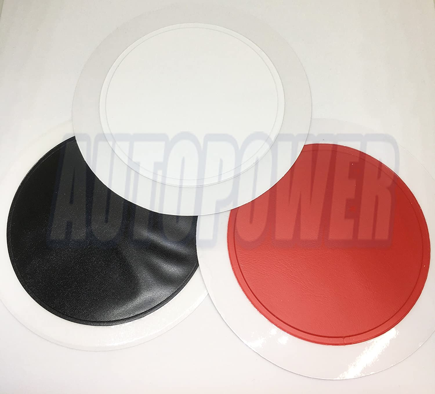 3x Different Colour Car Road Tax Disc Holder - Fits All Cars AutoPower