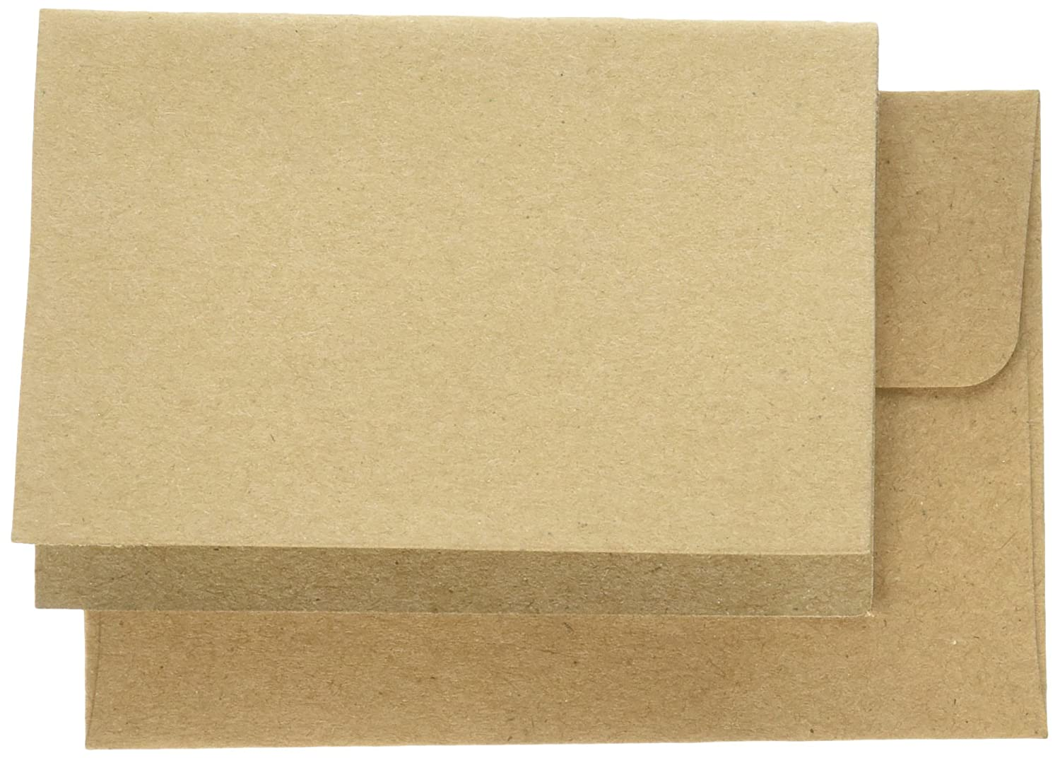 Kraft Creative Converting American Crafts Cards /& Envelopes 2.5 by 3.5 8 //Pack