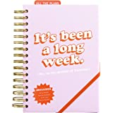 Yes Studio Non Dated Daily Long Week Hard Cover Power Planner with Elastic Closure