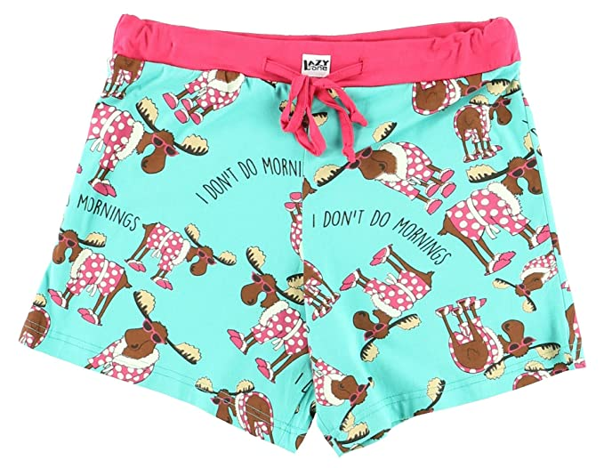 Lazy One Junior Mujer Dont Do Mornings Moose Pijama Boxers XS