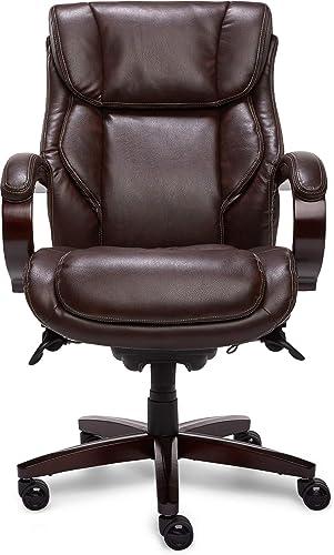 La-Z-Boy Bellamy Executive Office Chair with Memory Foam Cushions