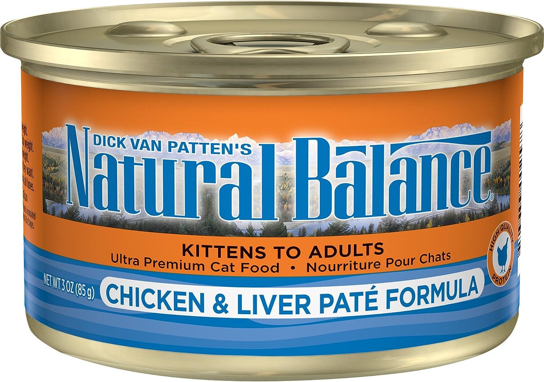 Natural Balance Ultra Premium Wet Cat Food, 24 Cans