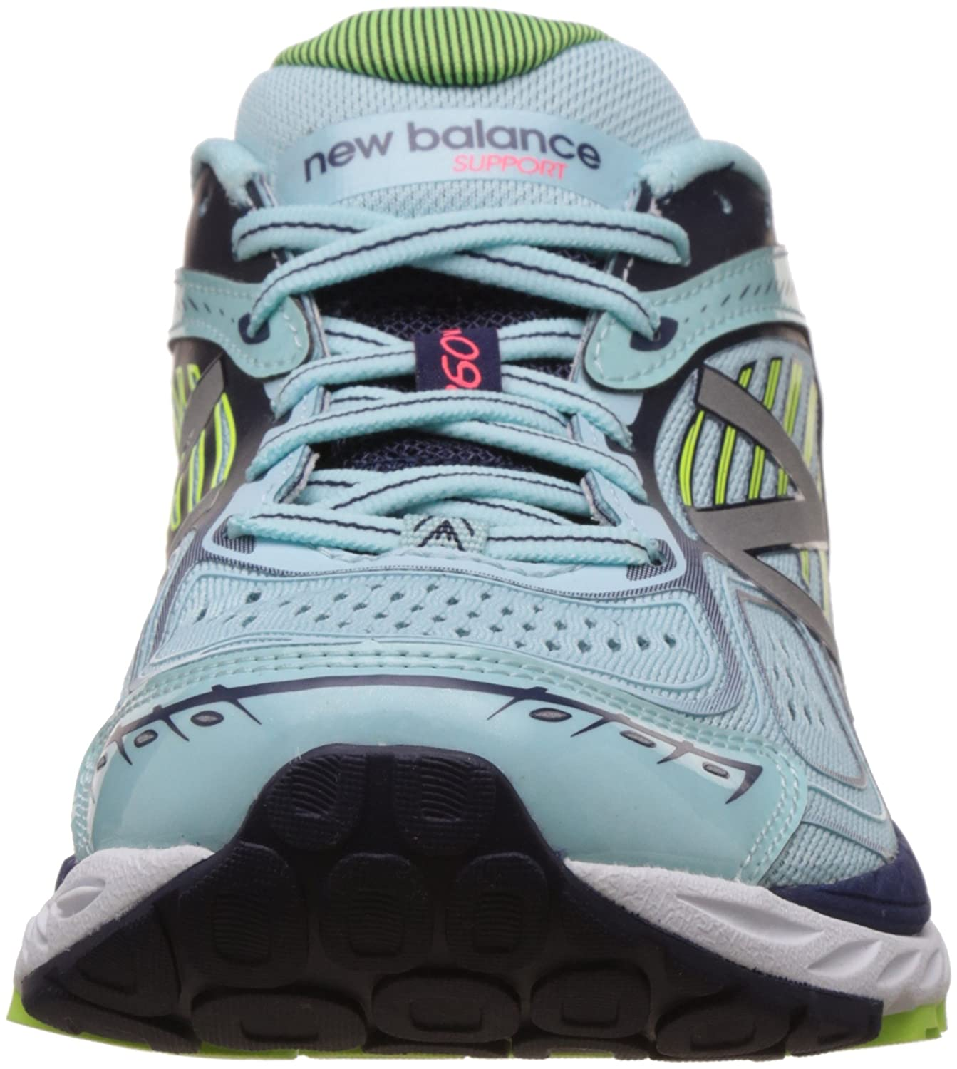 New Balance Women's W860bp7 B01M1SNGGM 6.5 B(M) US|White/Blue