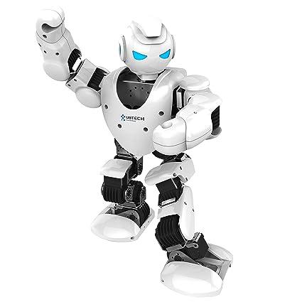 amazon com ubtech alpha 1s intelligent humanoid robotic white