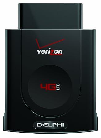 Delphi Connect Vehicle Diagnostic System with 4G LTE Mobile WiFi Hotspot,  Black (Verizon Wireless)