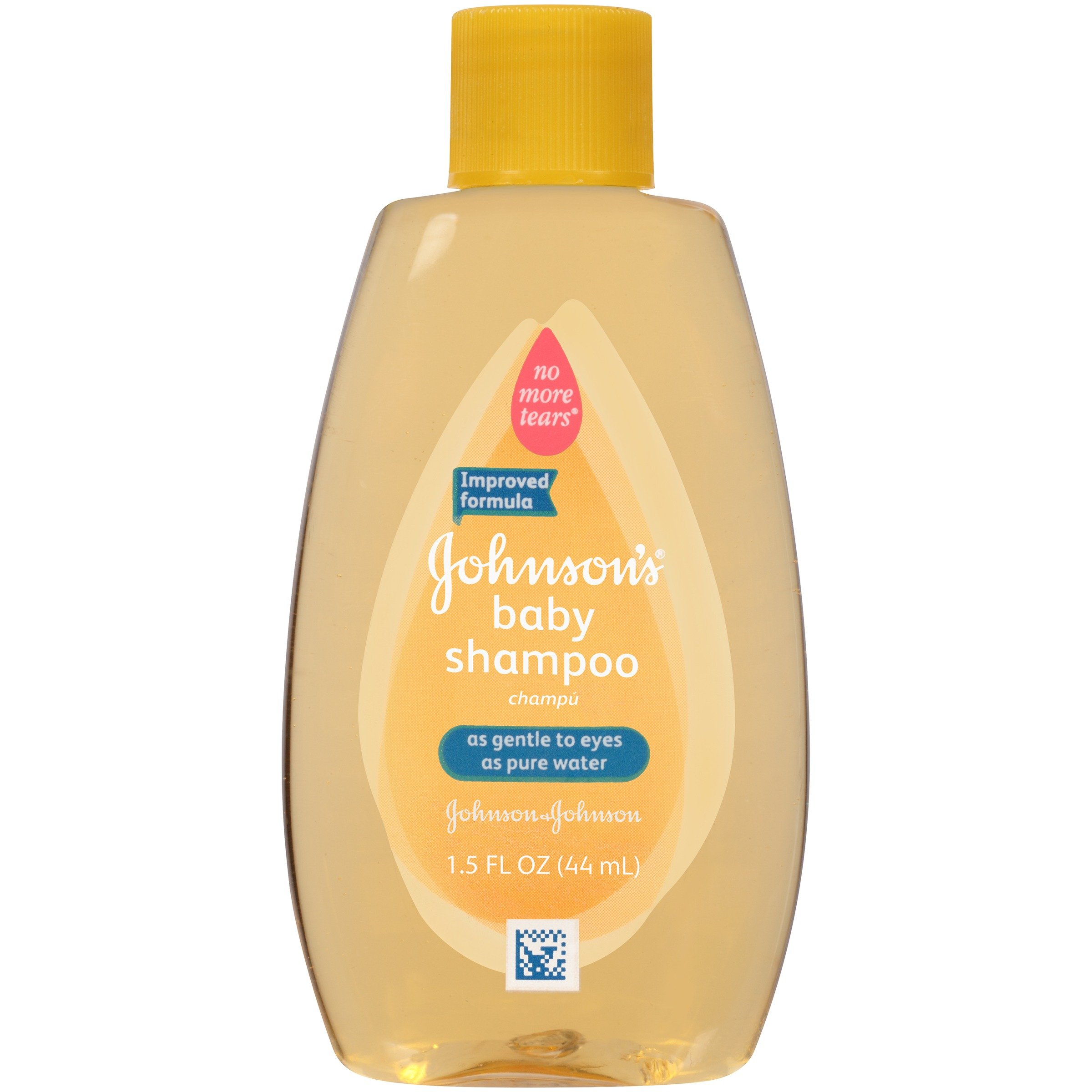 Johnson's Baby Shampoo, Travel Size, 1.5 Fl. Oz. (Pack of 48)