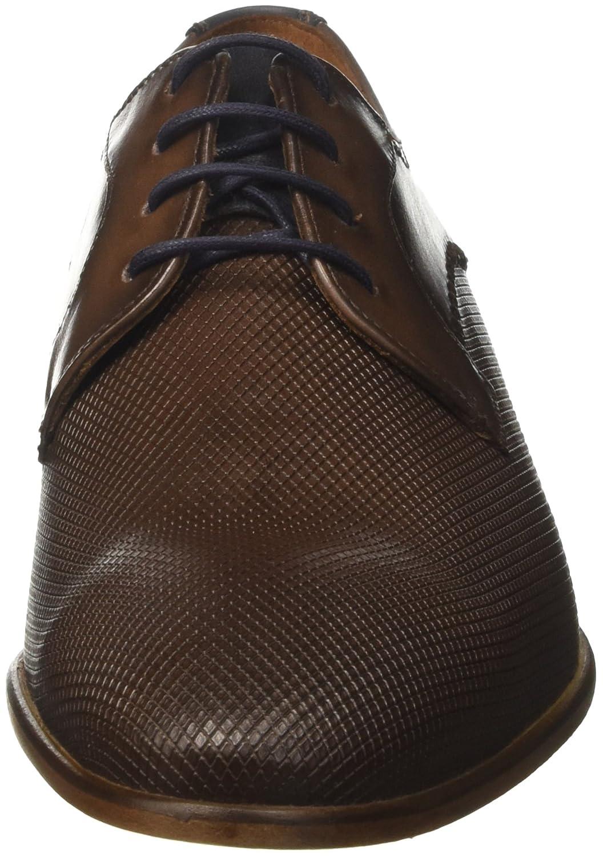 LLOYD Herrenschuh HUMPHREY, moderner Casual-Halbschuh aus geprägtem Leder mit Ledersohle Ledersohle Ledersohle 447491