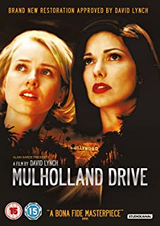 Mulholland Drive Digitally Restored Dvd 1999
