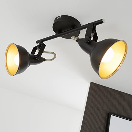 Briloner leuchten modern ceiling light retrovintage design 2 briloner leuchten modern ceiling light retrovintage design 2 rotatable spotlights metall aloadofball Gallery