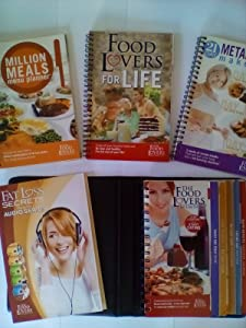 The Food Lovers, Fat Loss System with CD's, 21 Day Metabolism Makeover