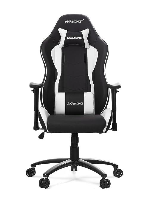 AKRACING Nitro Racing Estilo de escritorio silla de oficina gaming con respaldo alto, reclinable,