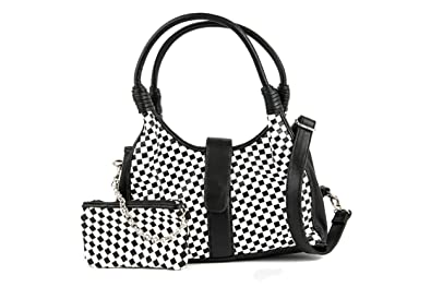 Bag Hanna Black And White Checkered Lola OsAmazon Ramona Shoulder TKJ1clF