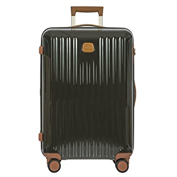 39fb331ab Amazon.com | Bric's Capri 27 Inch Ultralight Medium Spinner, Olive Shiny |  Suitcases