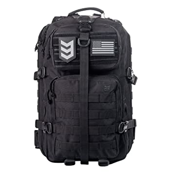 Amazon.com : 3V Gear Velox II Large Tactical Assault Backpack ...