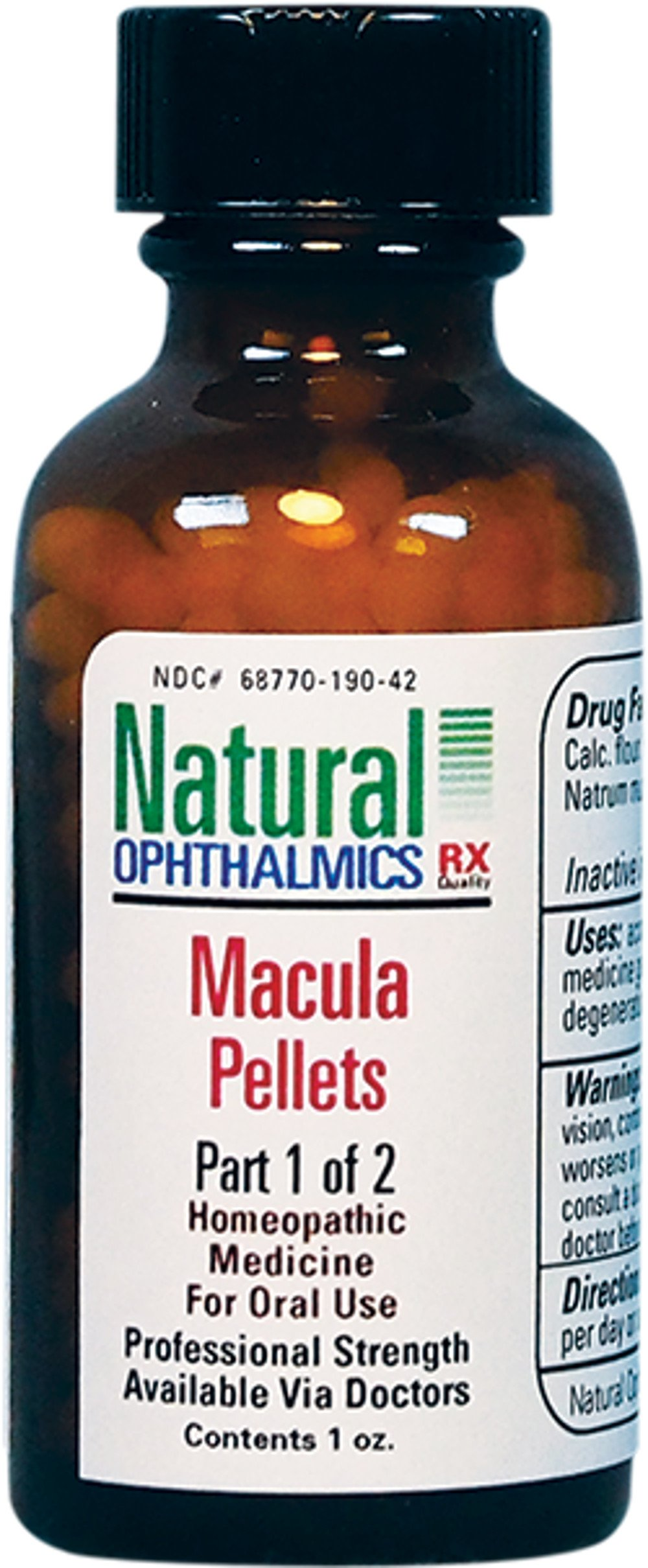 Macular Degeneration Pellets 1oz by Natural Ophthalmics