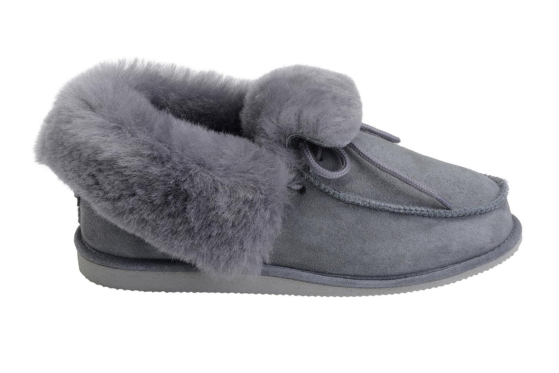 Pantofole Pecora Stile Mocassino Unisex in Vera Pelle Pelle Pelle di Pecora   364e7f