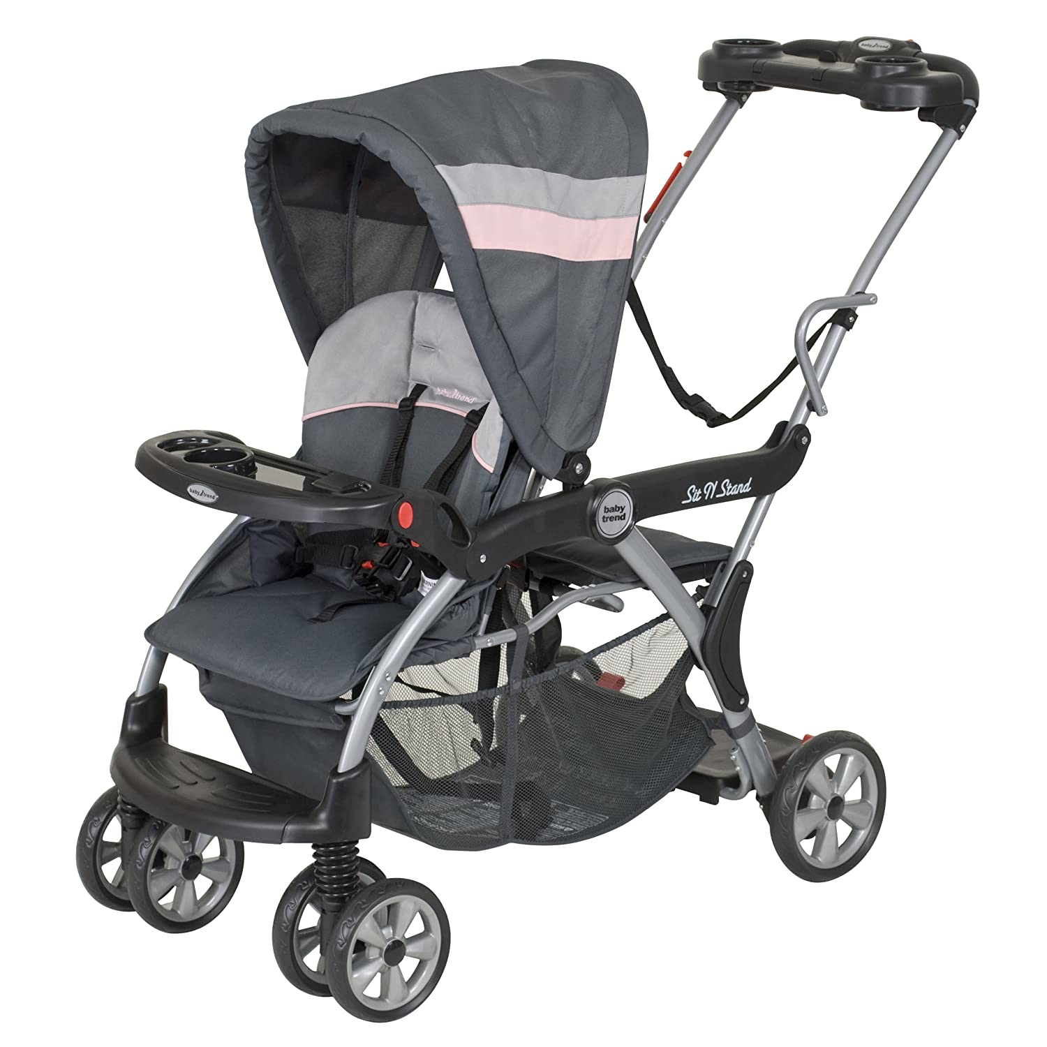Amazon Baby Trend Sit N Stand Deluxe Stroller Quartz Discontinued by Manufacturer Standard Baby Strollers Baby
