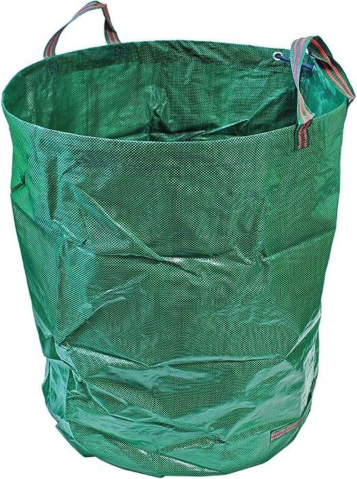 CampTeck U6667 500 litros Bolsa de Jardín Compatible con Residuos Polipropileno Resistente Saco de Jardín Reutilizable: Amazon.es: Deportes y aire libre