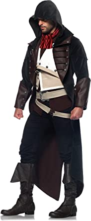 Amazon Com Leg Avenue Men S Assassin S Creed 7 Piece Arno Deluxe