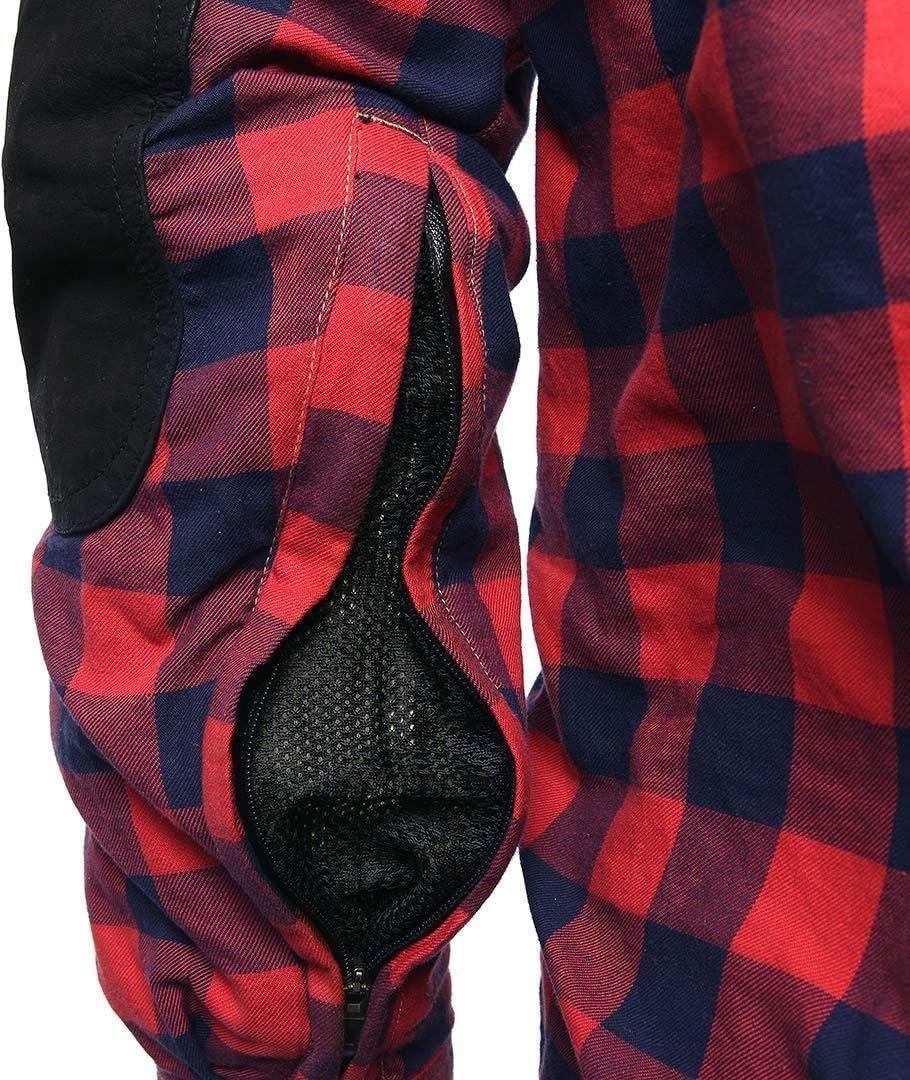 Bores Lumberjack Shirt Schwarz//Wei/ß XXL