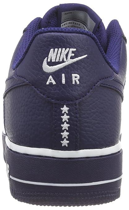 finest selection 55398 55ac5 Nike Herren AIR Force 1 '07 Sneaker, Blau (ROYAL Blue), 47.5 EU: Amazon.de:  Schuhe & Handtaschen