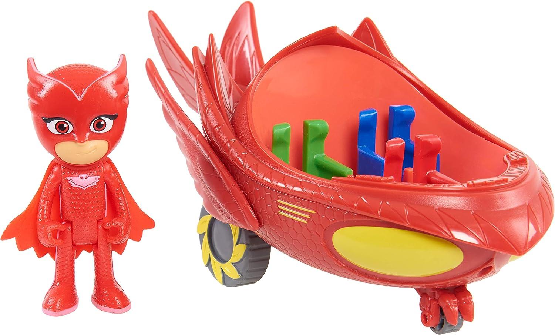 PJ Masks Vehículos de Juguete (Bandai 24577): Amazon.es: Juguetes ...