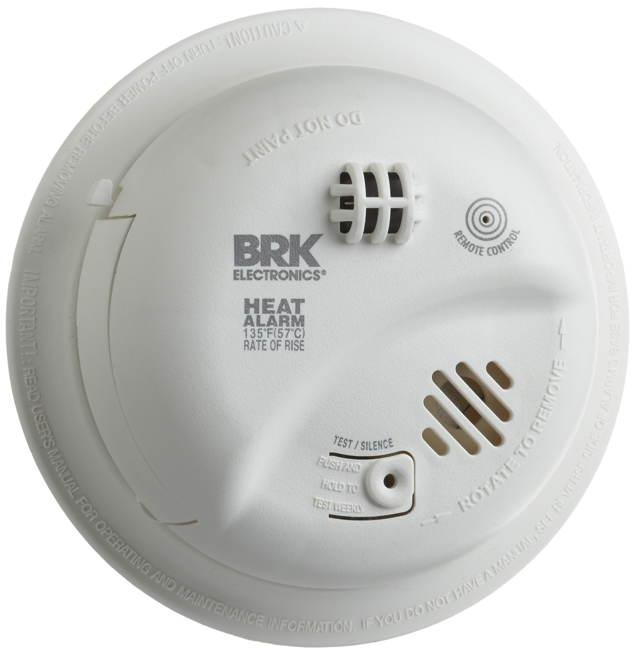 BRK Brands HD6135FB Hardwire Heat Alarm with Battery Backup by BRK Brands