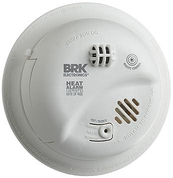 BRK Brands HD6135FB Hardwire Heat alarma con respaldo de batería: Amazon.es: Bricolaje y herramientas