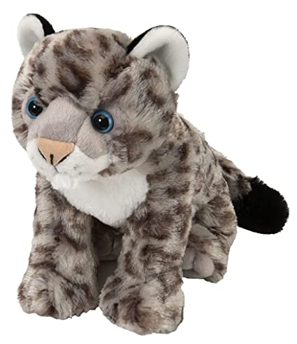 Wild Republic 30cm Cuddlekins Baby Snowleopard Amazon Co Uk Toys