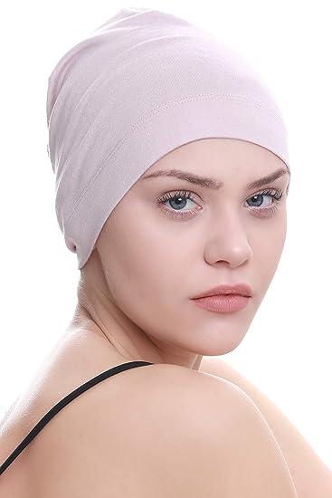 Berretto da notte - powder pink  Amazon.it  Abbigliamento 098eb83996f6