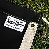 "SugarHouse Outdoor Air Conditioner Cover - Ultimate Sunbrella Canvas - Made in The USA - 10-Year Warranty - 36"" x 36"" x 38"" - Black"