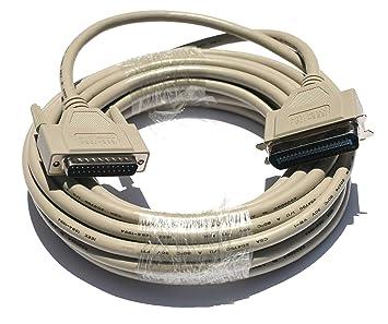 Amazon.com: PCCables.com - Cable de impresora paralelo de ...