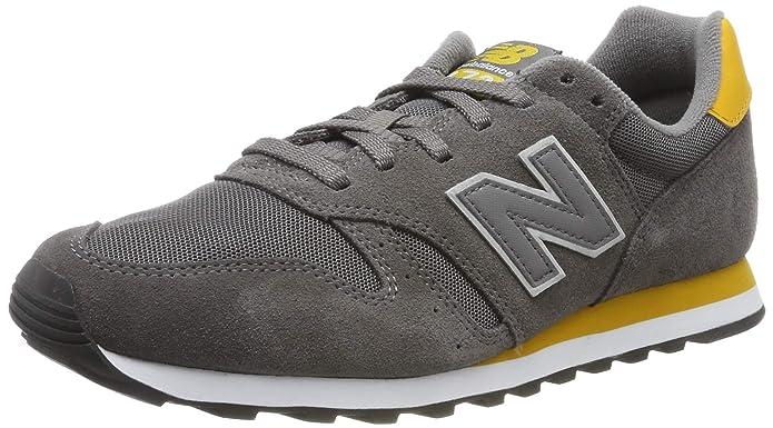 New Balance 373 Core Sneakers Herren Grau/Gelb