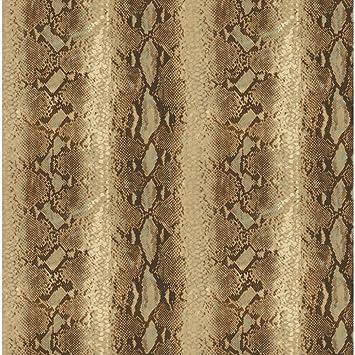 York Wallcoverings Nt8990 Natural Elements Python Wallpaper