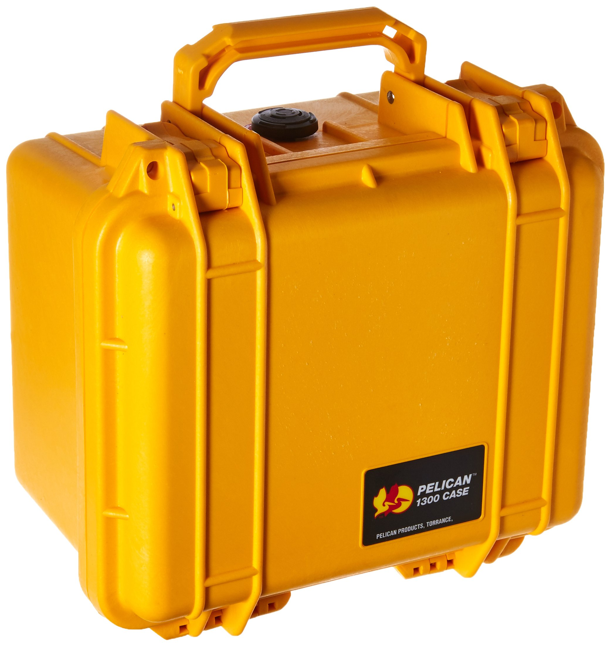 Pelican 1300 Camera Case With Foam (Yellow) by Pelican