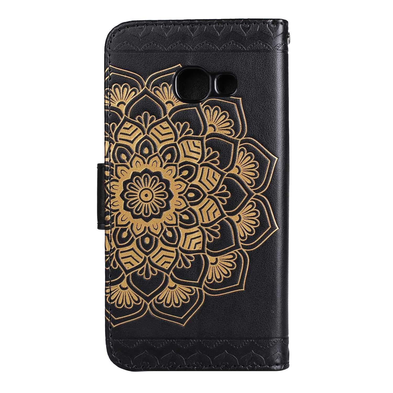 Gold Galaxy J7 Prime//On 7 H/ülle Kratzfestes Tasche CAXPRO/® Leder Schutzh/ülle mit Klappfunktion Magnetisch Verschluss Handyh/ülle f/ür Samsung Galaxy J7 Prime//On 7