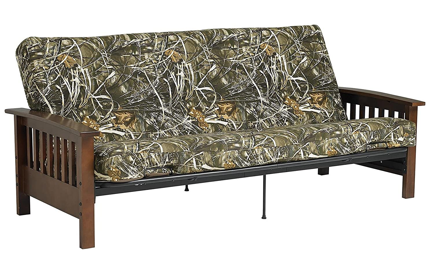 DHP 3829096 6 Realtree MAX-5 Poly Filled Full Size Futon Mattress, Camouflage Dorel