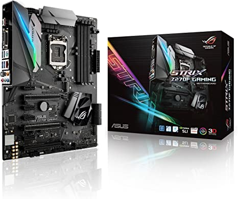Asus ROG Strix Z270F Gaming - Placa Base para Gaming (4 x PCIe 3.0 ...