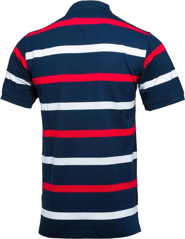 Inglaterra Rugby Camisa de Inglaterra de Rayas Polo para Hombre ...