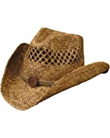 CoV-Ver Hats Vented Raffia Western Hat