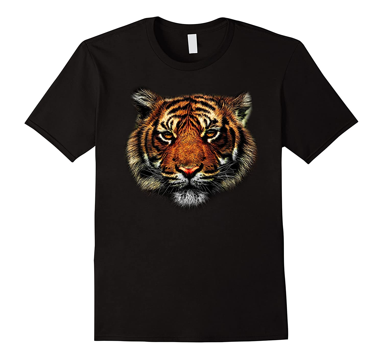 Tiger Eyes Animal Print Leopard Cheetah Head Lion Cat Shirt-AZP