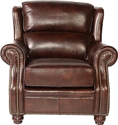 Amazon Com Ethan Allen Colburn Leather Recliner Omni