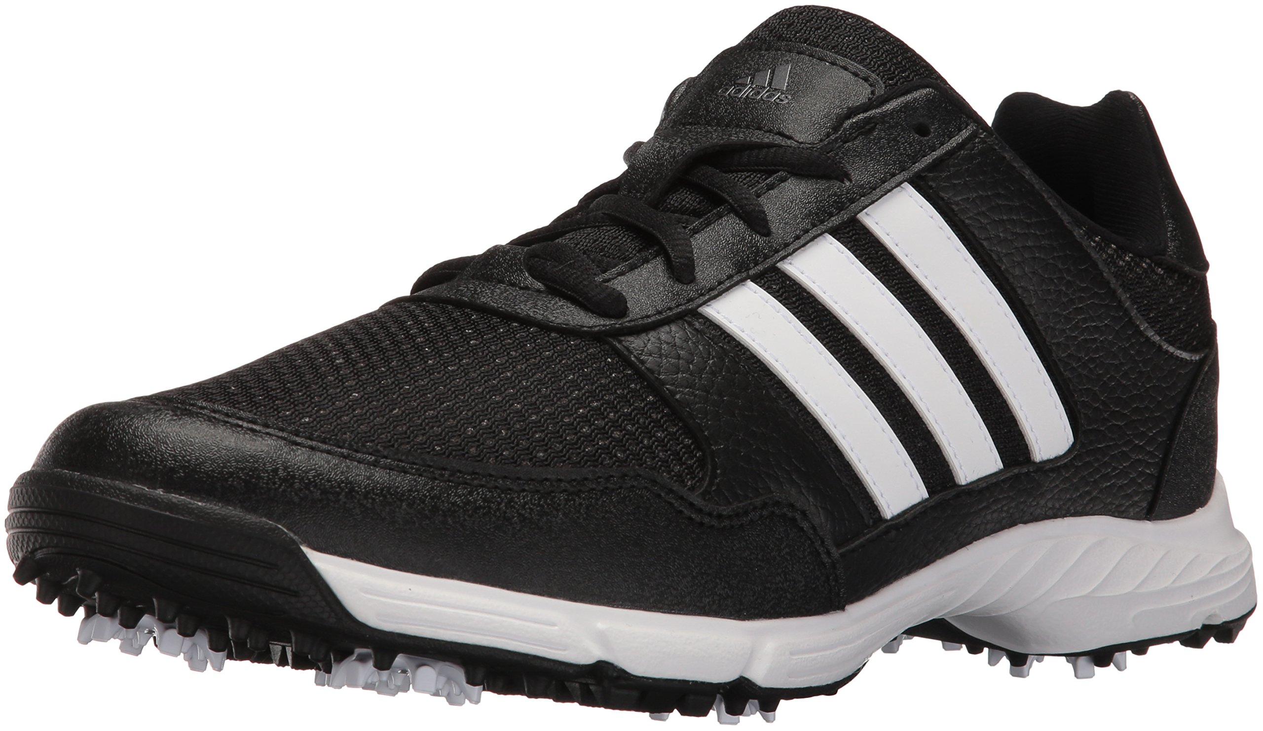 adidas Men's Tech Response Golf Shoe, Black, 11.5 M US